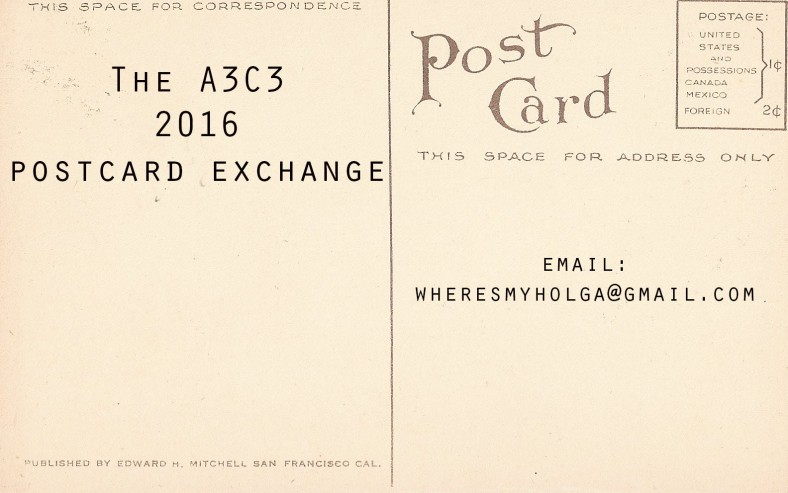 postcard header